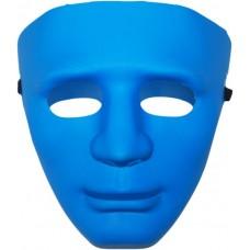 Маска Лицо Человека синяя