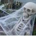 Паутина белая - декор на Хэллоуин
