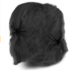 Паутина черная - декор на Хэллоуин