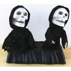 Танцующие скелеты - приколы на Хэллоуин