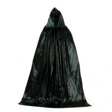Черная мантия с капюшоном