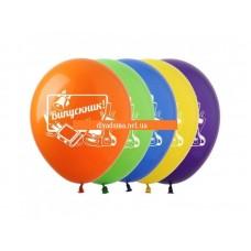 Воздушные шары Выпускник латексные 30 см