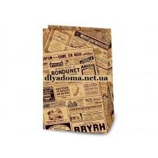 Подарочный пакет Газета