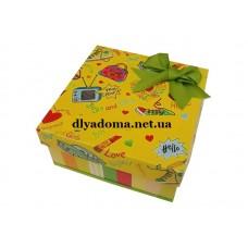 Коробка подарочная маленькая код 3111-1