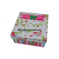 Коробка подарочная маленькая код 3111-2