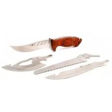 Туристический набор топор пила нож 4 в 1
