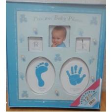 Фотоальбом для новорожденного мальчика со слепками