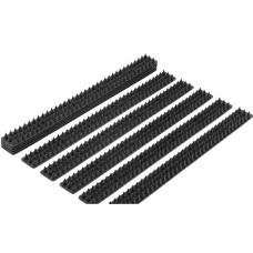 Антиприсадные шины от птиц черные 10 шт