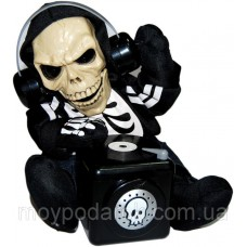 Кукла диджей-скелет