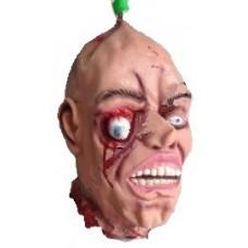 Голова подвесная с выпученным глазом - декорация для Хэллоуина
